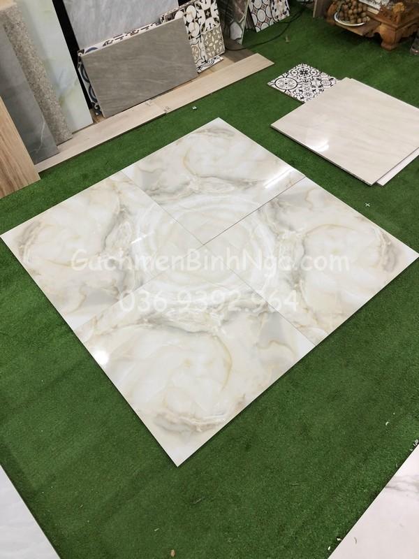 Gạch bóng kiếng 60x60 vân đá ngọc thạch giảm giá