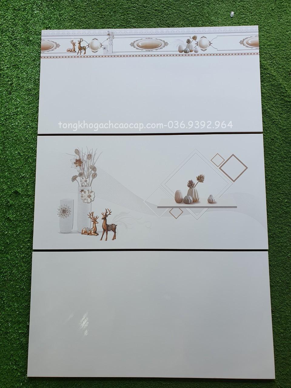 Gạch dán tường 30x60 mẫu con nai L1 sale giá rẻ