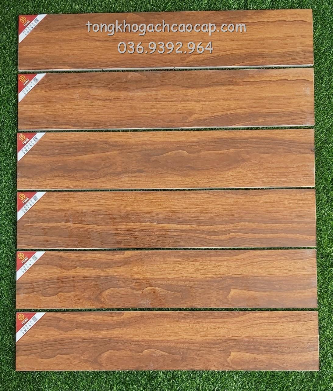 Gạch giả gỗ 15x80 Prime W158001