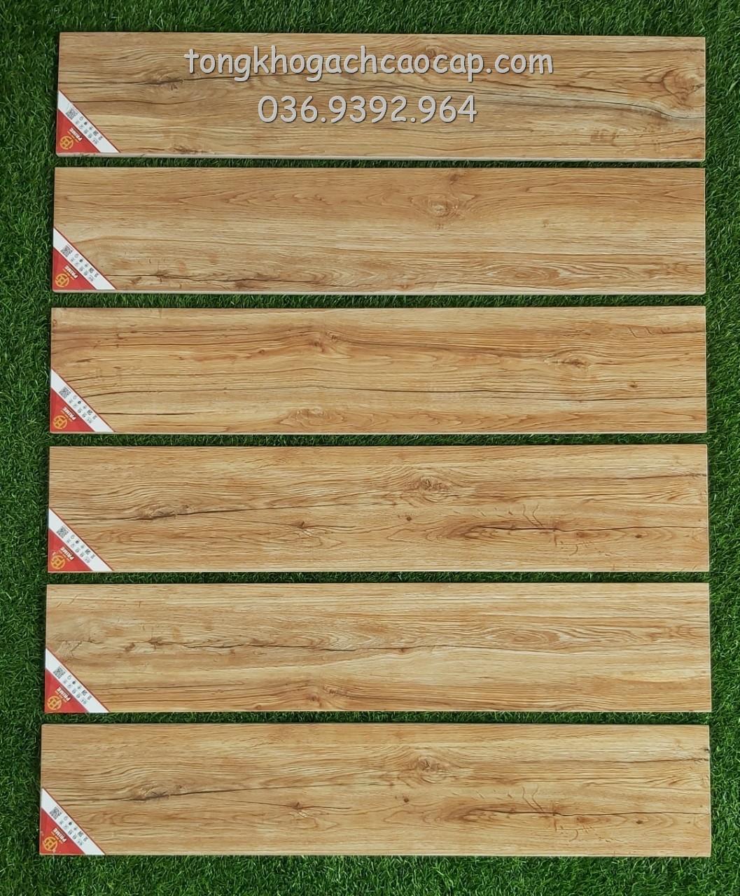 Gạch giả gỗ 15x80 Prime W158002