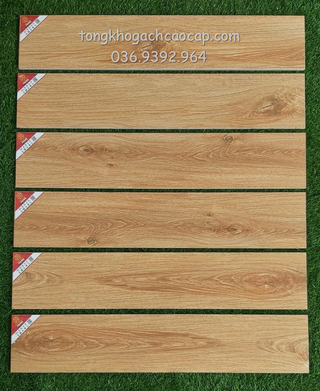 Gạch giả gỗ 15x80 Prime W158004