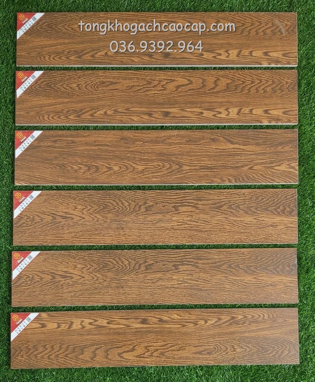Gạch giả gỗ 15x80 Prime W158005