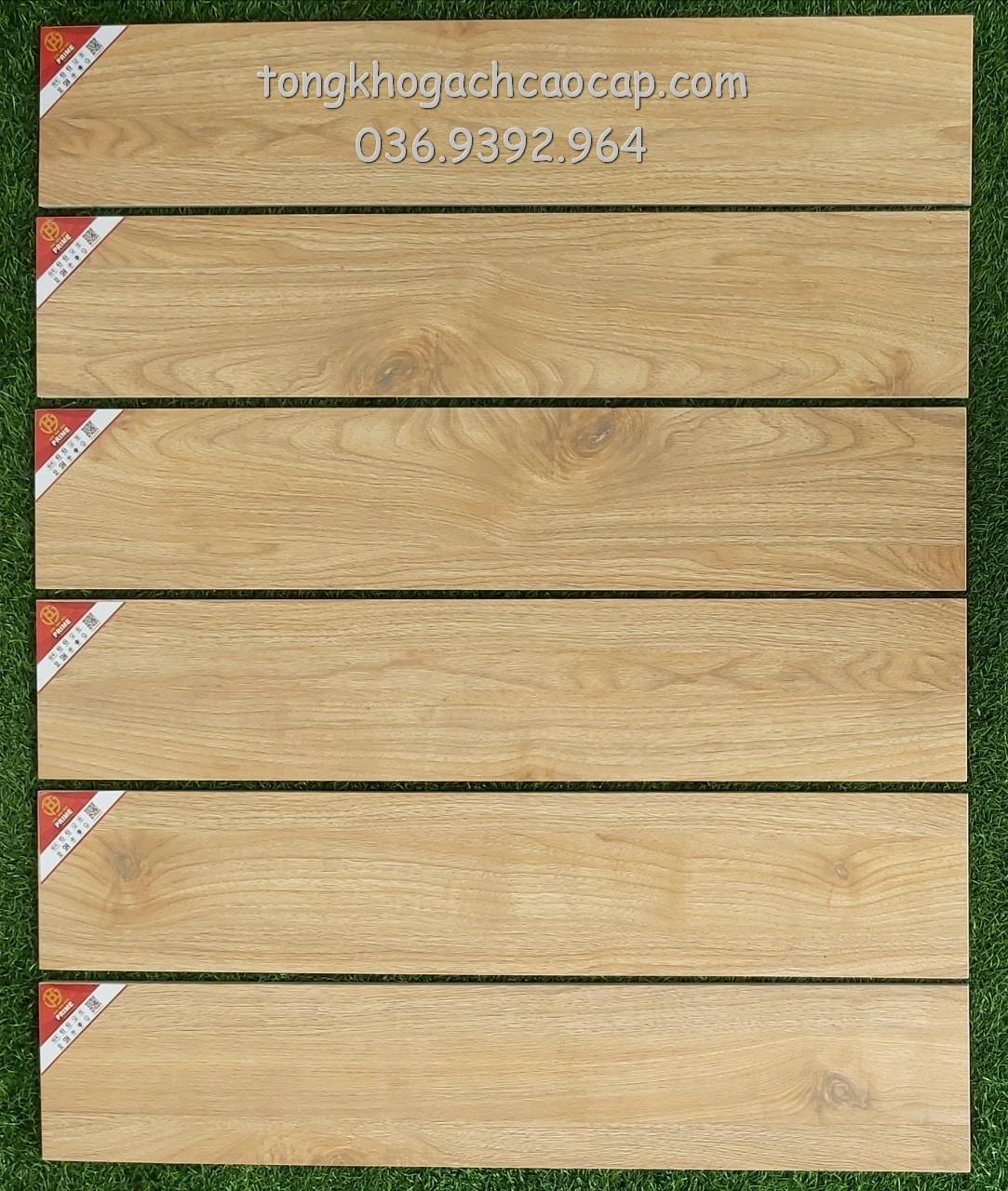 Gạch giả gỗ 15x80 Prime W158008