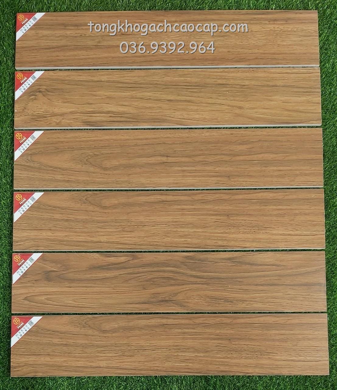 Gạch giả gỗ 15x80 Prime W158009