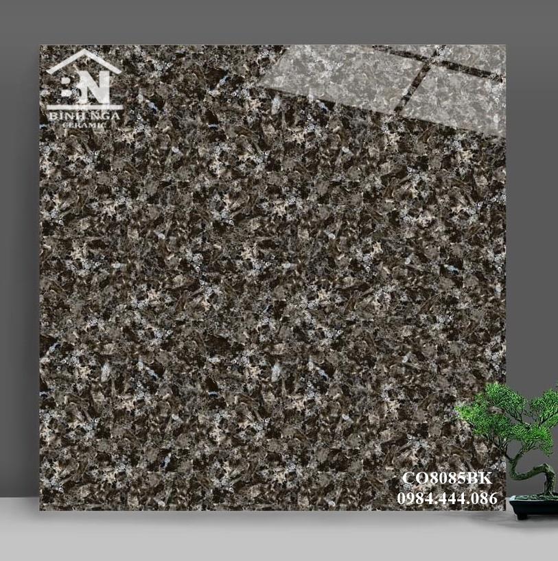 Gạch bóng kiếng 80x80 vân đá hoa cương cao cấp